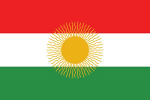 Kurdistan flag 1